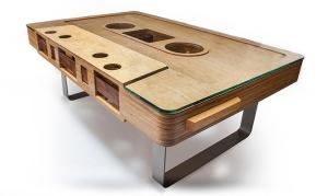 The Mixtape Cassette Table by Jeff Skierka 1