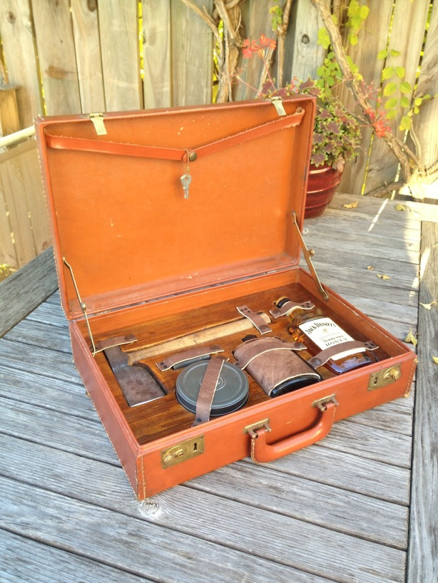wooden briefcase kit